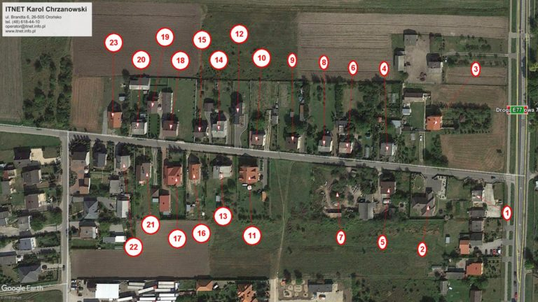 Zwiększenie zasięgu sieci światłowodowej w Orońsku